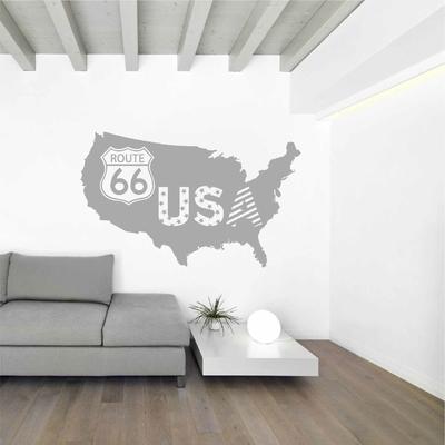 Stickers Carte USA