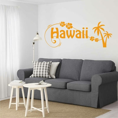 Stickers Hawaii palmier