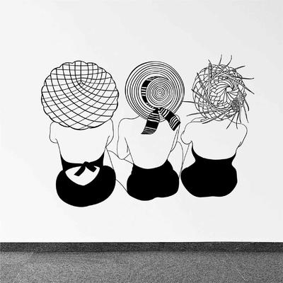 Stickers Femmes Retro
