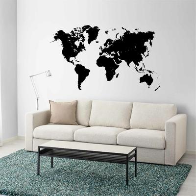 Stickers Carte du Monde