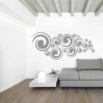 Stickers Retro forme spirales
