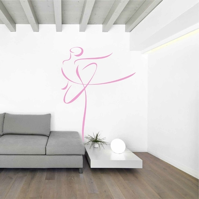 Stickers Danseuse Ballerine