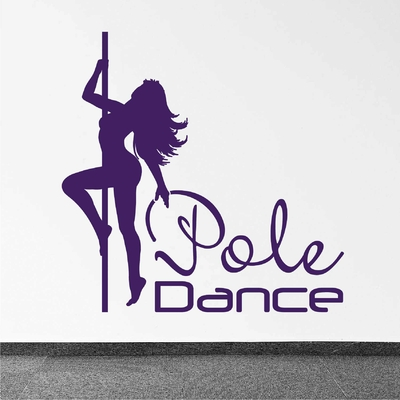 Stickers Pole Dance