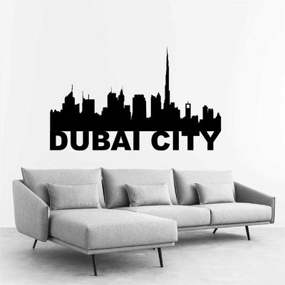 Stickers Dubai City Skyline
