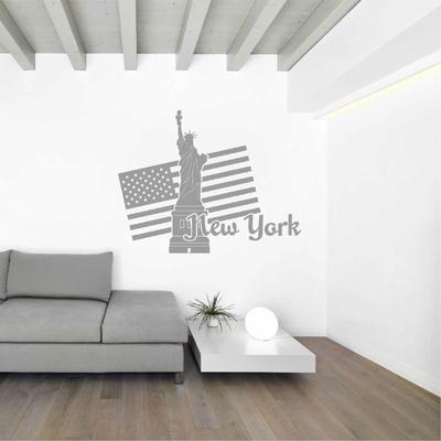 Stickers muraux New York Statue