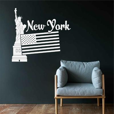 Stickers New York Statue