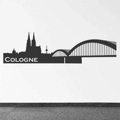 Stickers Cologne Skyline