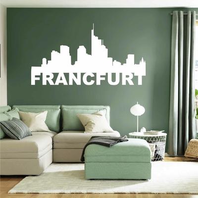 Stickers Francfurt Skyline