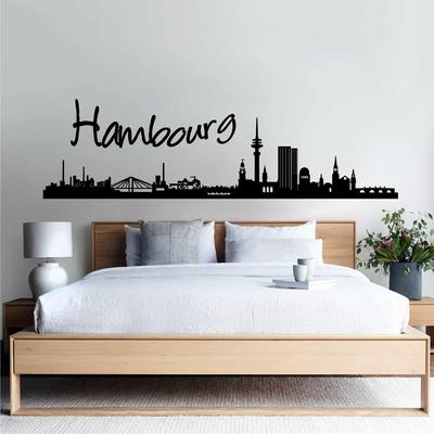 Stickers Hambourg Skyline