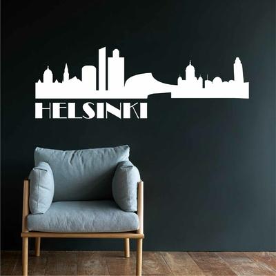 Stickers Helsinki Skyline