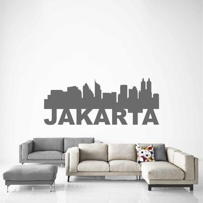 Stickers Jakarta Skyline
