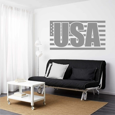 Stickers mural USA