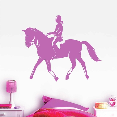 Stickers Cheval Equitation