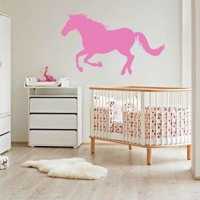 Stickers Cheval Galop