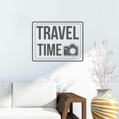 Stickers Travel Time Vintage