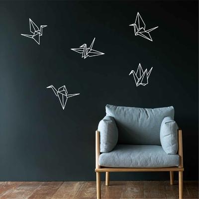 Stickers Grue Origami