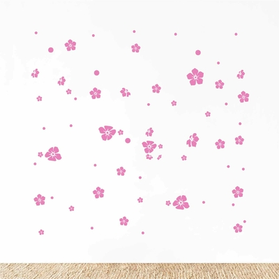 Stickers Deco Fleurs