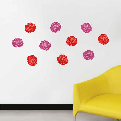 Stickers Fleurs deco