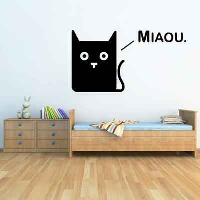 Stickers Chat cartoon Miaou