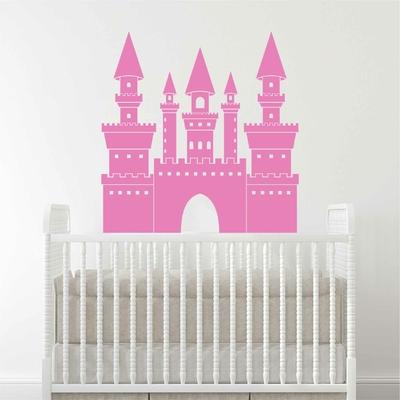 Stickers Chateau Princesse