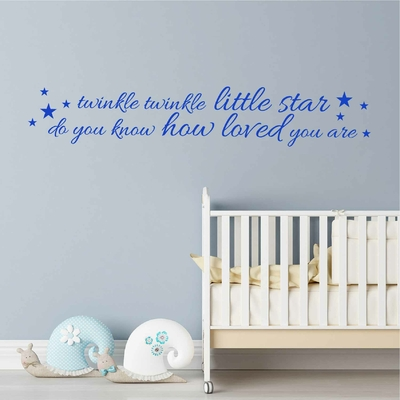 Stickers Citation Enfant Twinkle Little Star