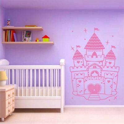 Stickers Mural Chateau Princesse