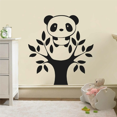 Stickers Panda Arbre