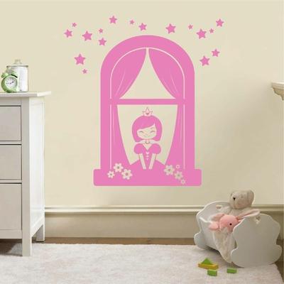 Stickers Princesse Fenetre