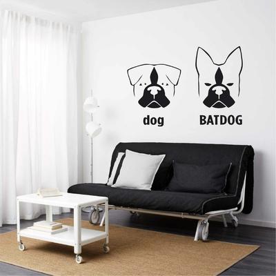 Stickers Batdog