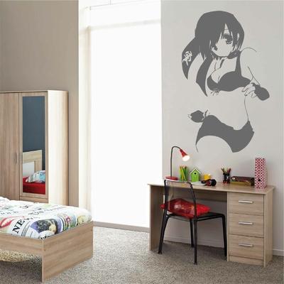 Stickers Fille Manga