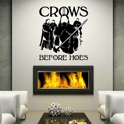 Stickers GOT Crows Before Hoes