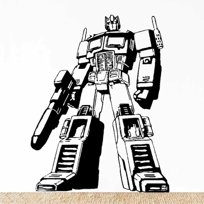 Stickers Robot Transformers