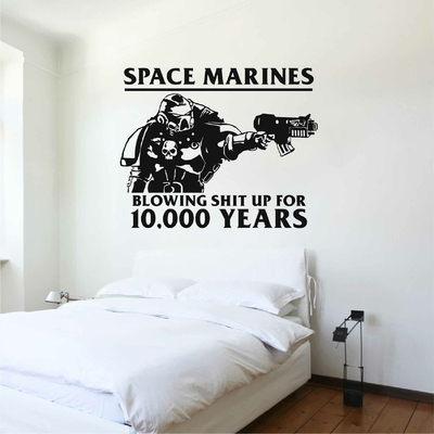 Stickers Space Marines