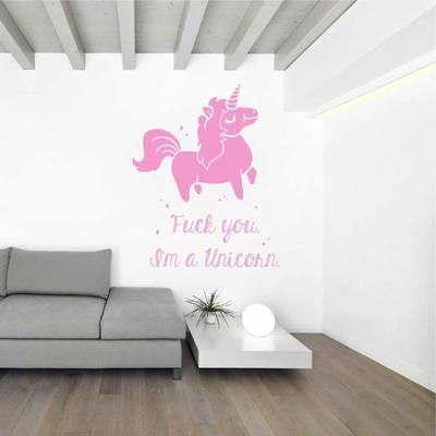 Stickers Fuck You I'm a Unicorn