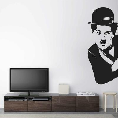 Stickers Charlie Chaplin Portrait