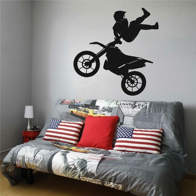 Stickers Moto Cross Acrobatique
