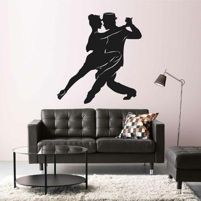 Stickers Tango Silhouette