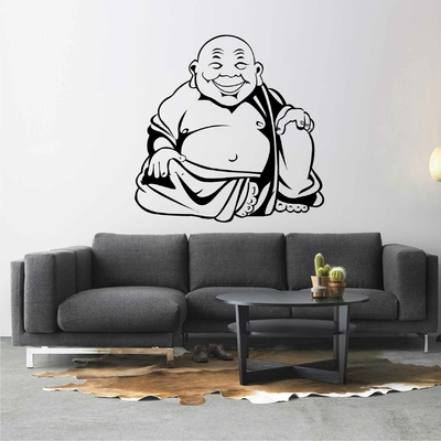 Stickers Bouddha Souriant
