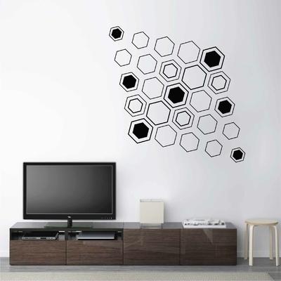 Stickers Hexagones