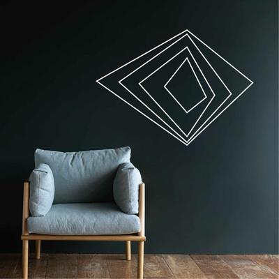 Stickers motif Geometrique