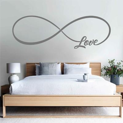 Stickers Love signe infini