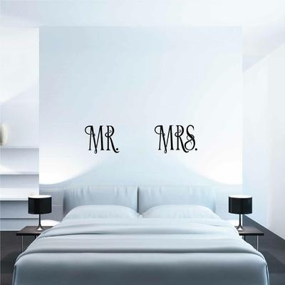 Stickers Mr Mrs