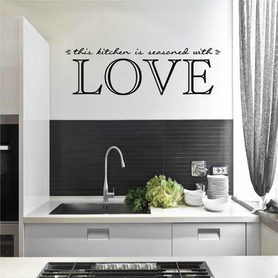 Stickers Assaisonnée avec Amour