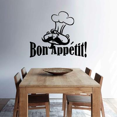 Stickers Bon Appetit Chef