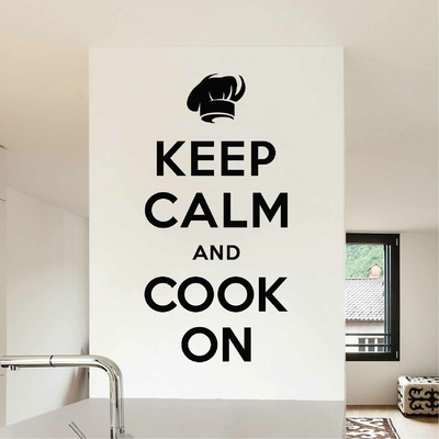 Stickers Keep Calm and cook on