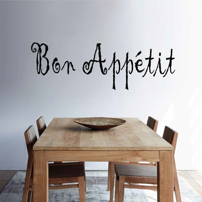 Stickers Mural bon appetit