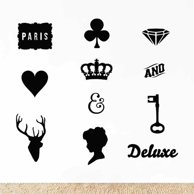 Stickers Deco Vintage