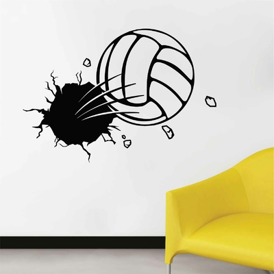 Stickers Ballon Volley