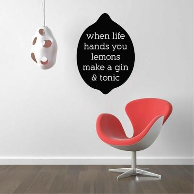 Stickers Citation Gin Tonic