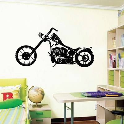 Stickers Deco moto chopper